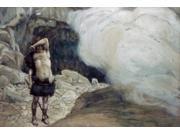 Cain's Punishment , James J. Tissot (1836-1902/ French), Jewish Museum, New York Poster Print (18 x 24)