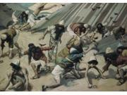 Quails are Sent to the Israelites , James J. Tissot (1836-1902/French) , Jewish Museum, New York Poster Print (18 x 24)