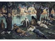 By the Waters of Babylon, James Tissot (1836-1902/French), Jewish Museum, New York, USA Poster Print (18 x 24)