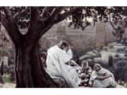 Christ Fortelling the Destruction of the Temple, James Tissot (1836-1902 French) Poster Print (18 x 24)
