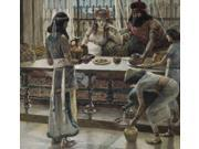 Nehemiah and the King, James Tissot (1836-1902/French), Watercolor on paper, Jewish Museum, New York Poster Print (18 x