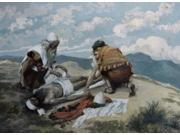 The Death of Aaron, James Tissot (1836-1902 French), Jewish Museum, New York, USA Poster Print (18 x 24)