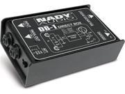 Nady Systems - NADY  PASSIVE DIRECT BOX