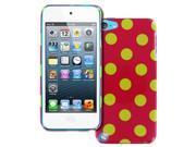 Empire Slim Fit Electric Lemonade Polka Dot Case for Apple iPod Touch 5Gen 5th Gen