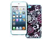 Empire Slim Fit Purple Bloom Flowers Case for Apple iPod Touch 5Gen 5th Gen