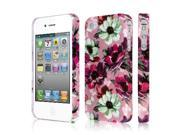 EMPIRE Signature Series Slim-Fit Case for Apple iPhone 4 / 4S – Vintage Pink Flower