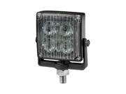 One ECCO VigiLED II Clear / Amber LED Flasher, Surface Mount or Bracket Mount