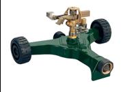 Orbit Impact Impulse Lawn Sprinkler on Aluminum Wheel Base - Waters Yard, 56186N
