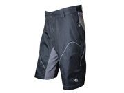 O2 Outback Shorts - Blk/Gray - XL