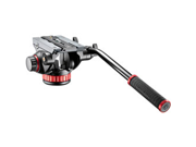 "Manfrotto 502HD Pro Video Head with Flat Base (3/8""-16 Connection)"