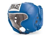 Everlast Amateur USA Boxing Headgear with Cheeks-Blue-Medium