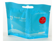 JasmineSeven Fresh Feet Wipes Twin Pack - 2 ct - Peppermint