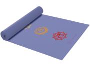 Gaiam Chakra Print Yoga Mat (3mm)