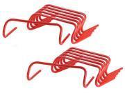"""SPRI Mini Hurdles (6"""" x 18"""") - Set of 12"""