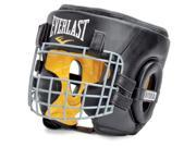 Everlast Safety Cage Leather Headgear - Small