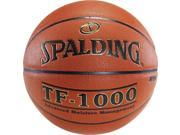 "Spalding TF-1000 Indoor Composite Basketball - Size 6 (28.5"")"