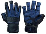 Harbinger 1310 BioForm Wrist Wrap Lifting Gloves - 2XL - Black/Blue