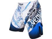 Venum Lyoto Machida Tatsu King Fight Shorts - 2XL - Ice/Blue