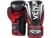 Venum Sharp Nappa Leather Boxing Gloves - 10 oz. - Black/Ice/Red