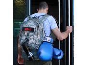 Gracie Jiu-Jitsu Camouflage Tactical Backpack (Standard Edition) w/ Black Patch