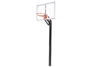 First Team Champ II In-Ground Basketball Hoop with 48 Inch Acrylic Backboard