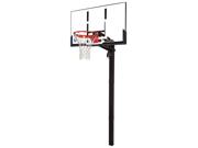 Spalding NBA 88365 In-Ground Basketball Hoop with 54 Inch Acrylic Backboard