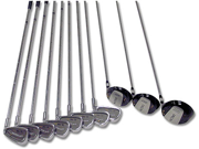 Delta Golf Men's Left Hand 7 Piece Golf Club Set