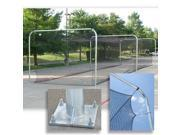 Pro Tunnel Permanent Batting Frame 3 Section with 3.5'' Steel Pipes