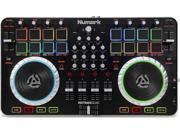 Numark Mixtrack Quad 4-Channel DJ Controller with Audio I/O