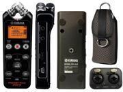 Yamaha POCKETRAK PR7 Recorder w/Soft Case & POCKETRAK PR-XLR XLR Input