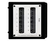 On-Q/Legrand Cat6 Network Interface Module, 12-Port (AC1015)