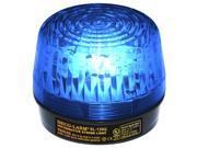 Seco-Larm Enforcer Xenon Strobe Light, 24VDC, Blue Lens (SL-126-A24Q/B)