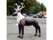 "84"" Inflatable Lifelike Reindeer"