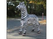 Lifelike Zebra Display OVER 7 FEET TALL Party Rock Zebra Inflatable Decor