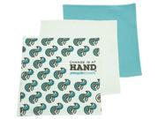 PeopleTowels 3-Pack 3 Degrees of Conservation Towel