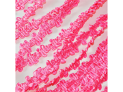 Beautiful Flower Ribbon Trim- 25 Yards- 1/2 Inch - Color: Hot Pink