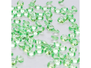 Acrylic Tiny Beads 1/4 inch Party or Craft Decorations 145 Pieces - Color: Apple Green