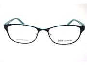 Juicy Couture Juicy 109 Eyeglasses-In Color-Black / Teal (0RA8)-Size-51/16/130