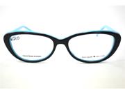 Kate Spade Stephie Eyeglasses-In Color-Black Pool (0JRH)-Size-49/15/135