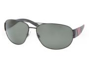 POLO Sunglasses PH 3052 90039A Shiny Black 65MM
