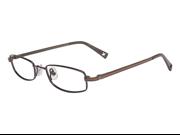 X GAMES Eyeglasses TOMAHAWK UC-CLIP 204 Equinox Brown 45MM