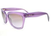 PRADA Sunglasses PR 07PS MAV6P1 Opal Violet 56MM