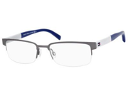 TOMMY HILFIGER Eyeglasses  1196 083J Ruthenium 55MM
