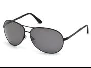 TOM FORD Sunglasses TF 0035 02D Matte Black 62MM