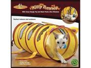 Pet Store Kitty Tunnel w/ Dangly Ball and Mesh Peek-a-Boo Windows