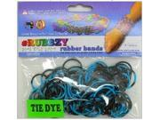 Rubbzy 100 pc Special Edition Tie Dye/Glitter Rubber Bands (#500)