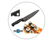 Sushi Chef's Knife with Superior Non Stick Coating