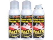 Gone Smoke 21021 Smoke 'n' Odor Auto Fogger set of three(3 oz.)