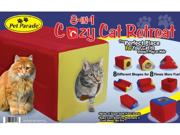 Pet Parade 8 in 1 Cozy Cat Retreat