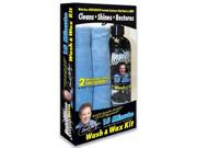 Rejuvenate Auto 15 Minute Wash and Wax Kit w/ Microfiber Towels